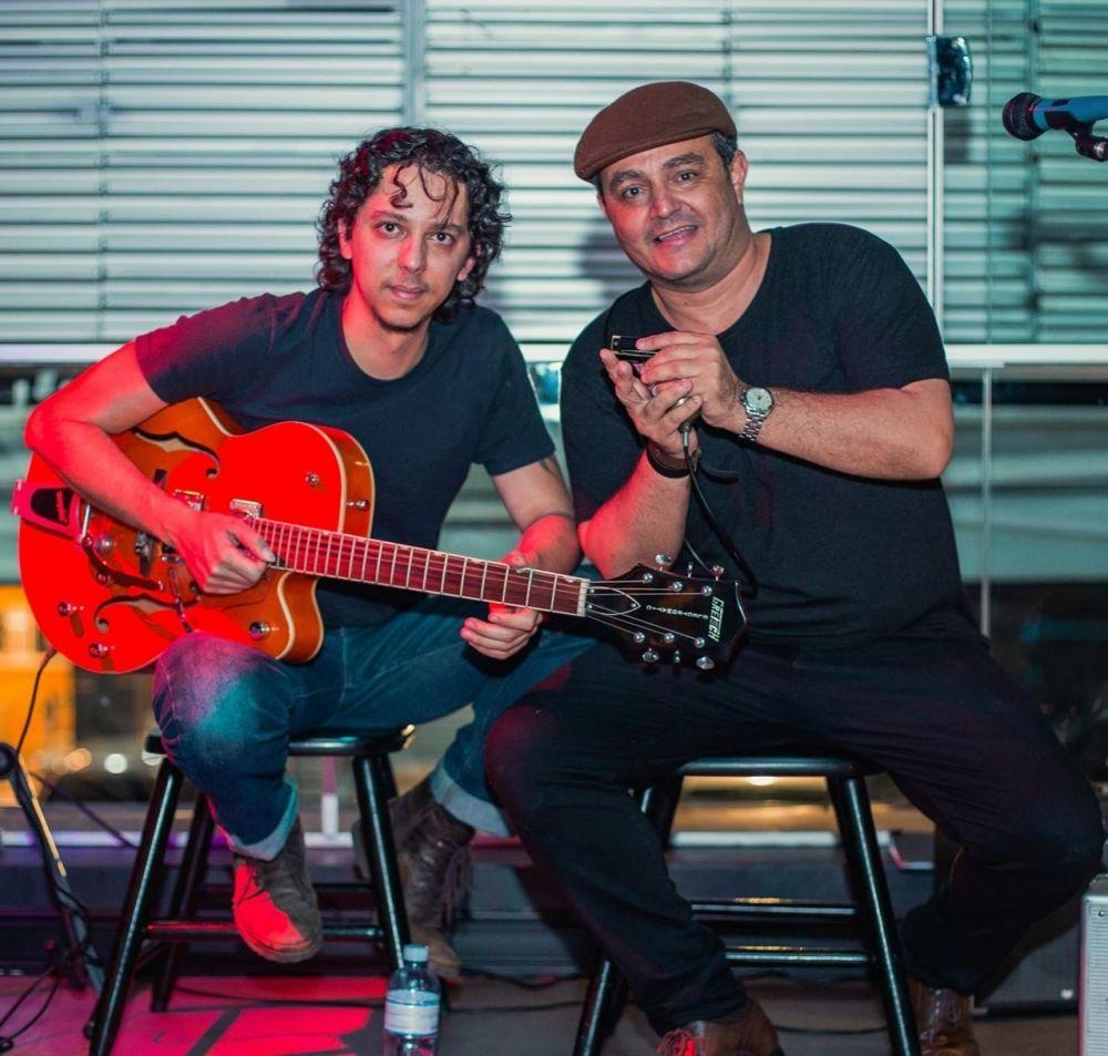 duo de blues Alex Duarte e Ricardo Serpa