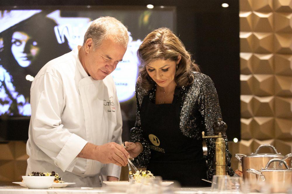 Chef Carlos Cardoso e Eliene Lucindo
