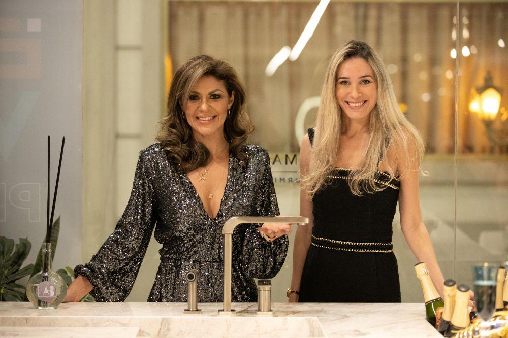 Eliene Lucindo e Renata Benigno