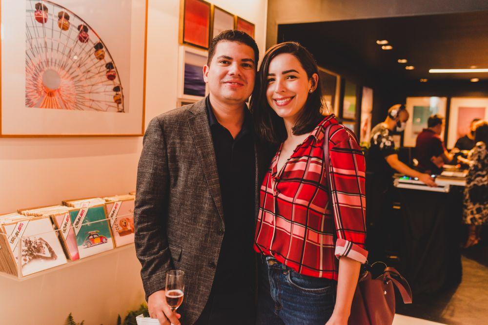 Fernando Moura e Adryelle Pedrosa