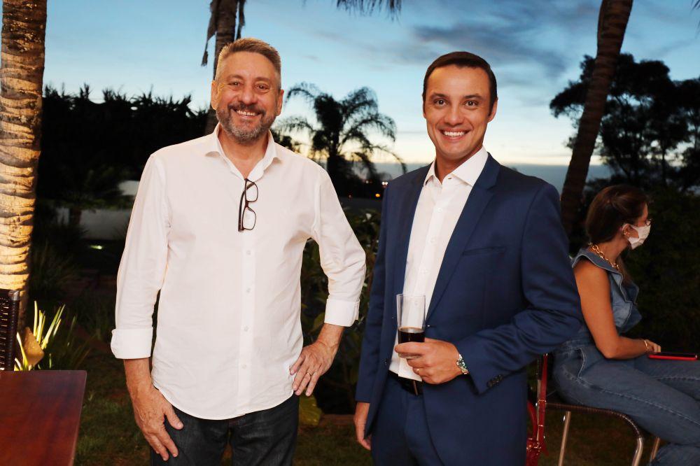 Arthur Pepe e Leandro Silvério