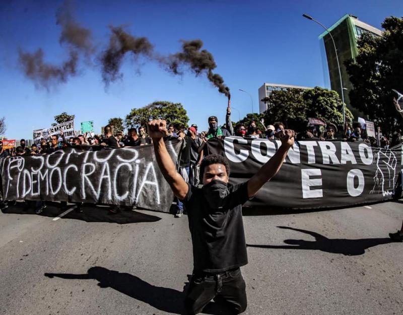 Ato pela Democracia em Brasília - Fotos: Ricardo Stuckert