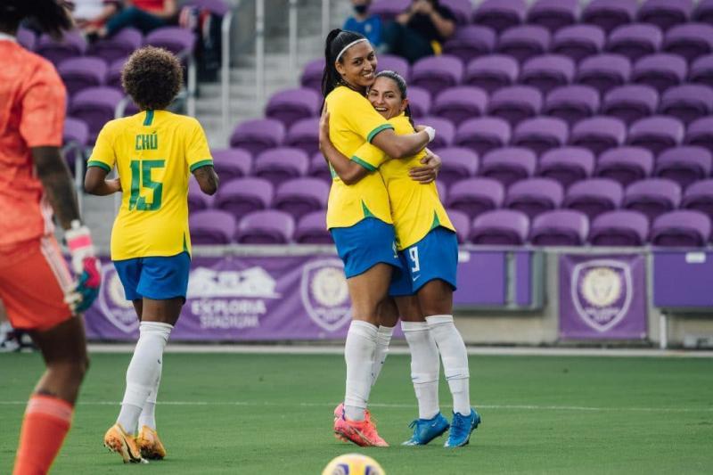 Brasil vence a Argentina em Orlando EUA - Fotos Sam Robles/CBF
