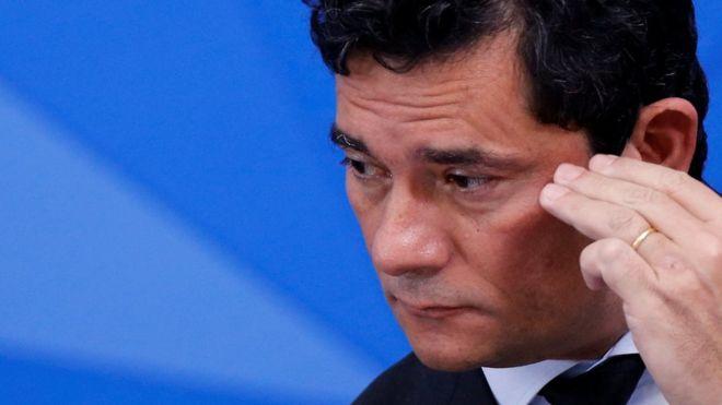 Sergio Moro era visto como uma figura-chave no governo - REUTERS