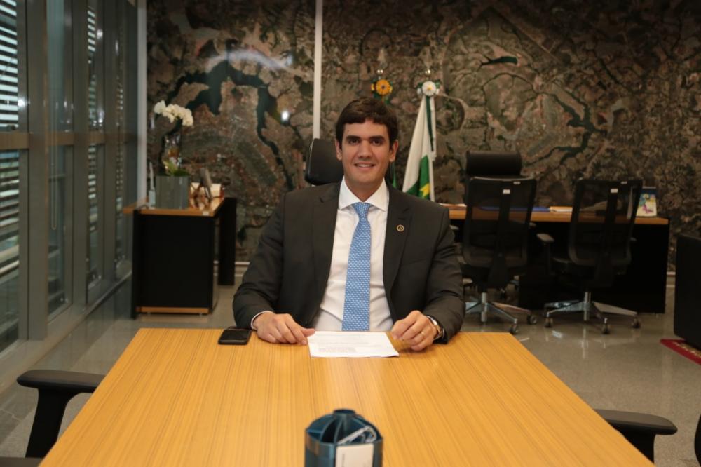 presidente da Câmara Legislativa, deputado Rafael Prudente (MDB)