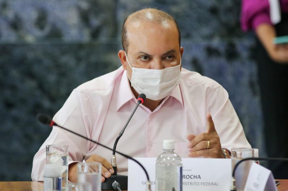 Governador Ibaneis Rocha (MDB/DF)