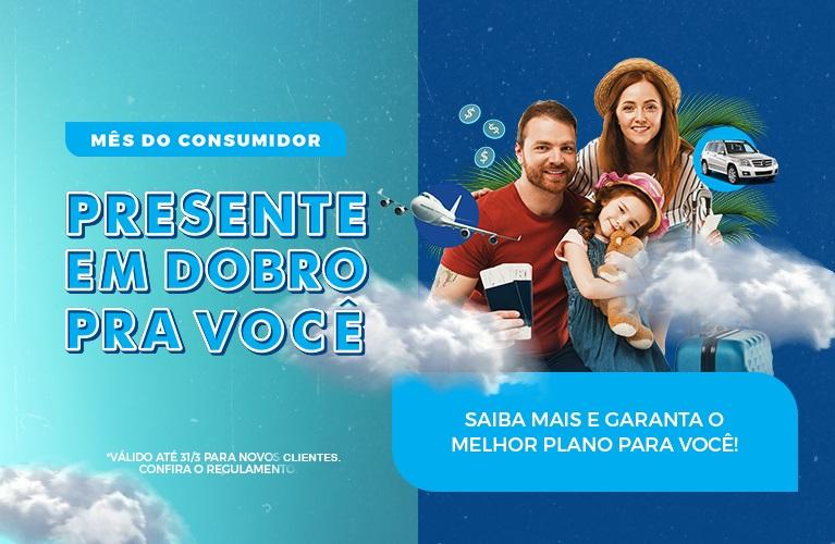 Mês do Consumidor: Presente em dobro